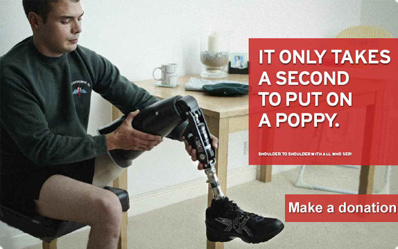 It only takes a minute to put a Poopy on - Please make a donation - click here…